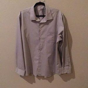 Joseph Abboud Men's LS Dress Shirt Size 18, 36/37